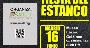 Fiesta del Estanco en Madrid, ¿Te la vas a perder?